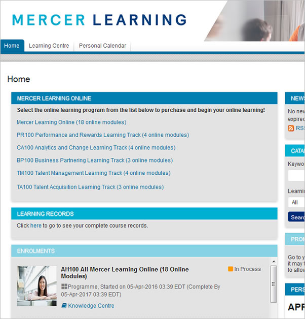 Mercer Learning - Online training