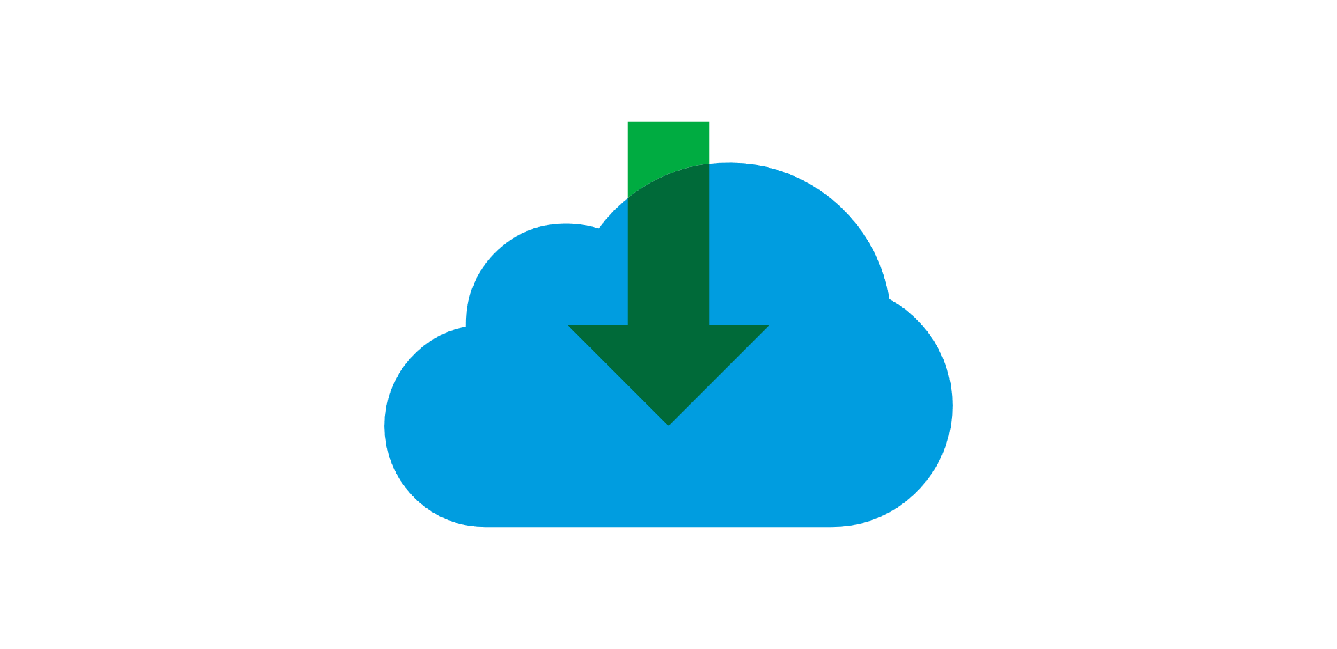 Blue cloud icon representing HR transformation